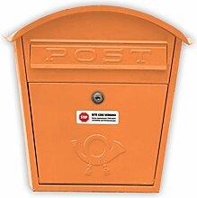 Bitte keine Werbung Aufkleber (weiß, einzeln abziehbar, witterungsbeständig) für Ihren Briefkasten (1 Stück)