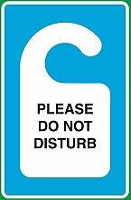 Bitte nicht stören Print Tür Aufhängen Bild
