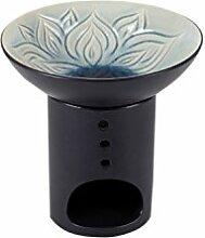 Bitto Duftlampe LOTUSBLÜTE Keramik mit Schale in