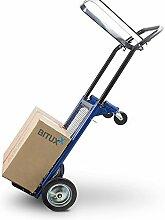 BITUXX® 2in1 Sackkarre klappbar Transportkarre Handkarre Stapelkarre Plattformwagen 80kg
