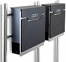 BITUXX® Design Doppel Standbriefkasten 16781