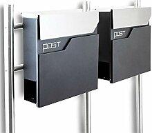 BITUXX® Design Doppel Standbriefkasten 16783