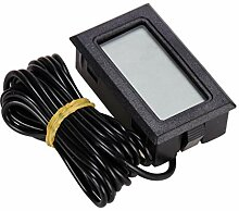 Biuday LCD Display Temperatur Tester Thermometer