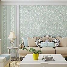 BIZHI Moderne Tapeten Art-Deco-3D einfache moderne Tapete Wandverkleidung Vliesstoff Wandkunst, 601-3