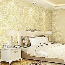BIZHI Moderne Tapeten Art-Deco-3D einfache moderne Tapete Wandverkleidung Vliesstoff Wandkunst,Beige