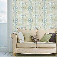 BIZHI Moderne Tapeten Art-Deco-3D Wand Abdeckung PVC selbst Klebstoff/Vinyl Stoff Wandkunst,QZQ-1