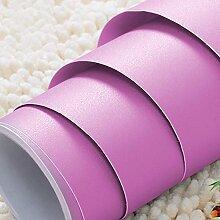 BIZHI Solide Wallpaper für Home zeitgenössische Wand Abdeckung PVC/Vinyl Material selbst selbstklebende Tapete Zimmer Tapete,MKWW4
