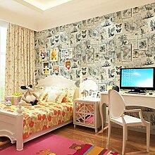 BIZHI Zeitgenössische Wand Abdeckung PVC/Vinyl Material selbst selbstklebende Tapete Zimmer Tapete,BIZHI 28