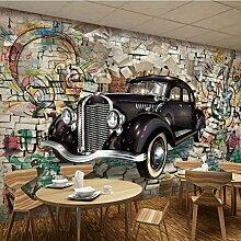BIZHIGE Heimwerker 3D Wand Papierrollen Fototapete