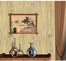 bizi Tapete Vintage Holzoptik Tapeten 3D Effekt