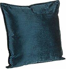 Bizzotto Tresor Kissen, Polyester, Blue, 40x 40x 42cm