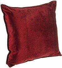 Bizzotto Tresor Kissen, Polyester, Red, 40x 40x 42cm