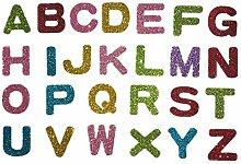 BJ-SHOP Buchstabe Aufkleber,Alphabet Aufkleber