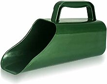 Bjade Green Garden Shovel, Green Scoop,