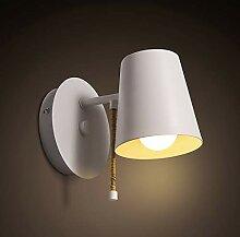 BJYG Industrielle Lampe Moderne Wandlampe Eisen