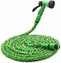 BJYG Wasserhahn grüner Gartenschlauch, Flexibler