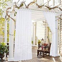 BJYX Transparente Pavillon-vorhänge Für Den