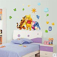 BKLKBL Wandaufkleber Kind Baby Zimmer Cartoon Tier