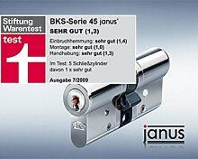 BKS Janus 45 Profil-Doppel-Schliesszylinder