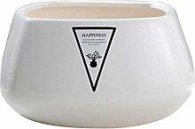 Bktmen Einfache kreative potte keramische