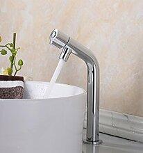 BL Moderne zeitgenössische Edelstahl Bad Waschbecken Wasserhahn kaltes und warmes Becken Küchenarmaturen