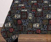 BL Tischdecke aus Stoff mit Halloween-Motiv, 132 x