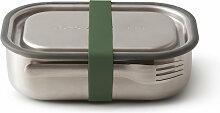 Black + Blum - Edelstahl Lunch Box, olive