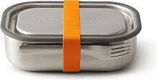 Black + Blum - Edelstahl Lunch Box, orange