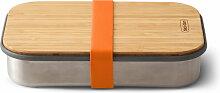 Black + Blum - Edelstahl Sandwich Box, orange