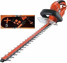Black & Decker GT5055SPKIT Heckenschere 500W 55cm 55 cm Schwertlänge +5 Teiliges Garten Bewässerung Se