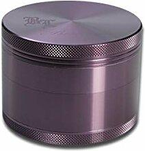 Black Leaf Alu-Mühle 4-TLG. m. Magnet Ø55mm viole