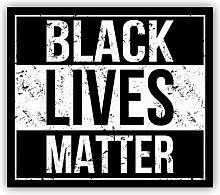 Black Lives Matter - Self-Adhesive Sticker Car