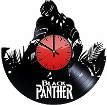 Black Panther Marvel Comics Wanduhr aus Vinyl,