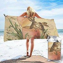 Black-Sky Quick Dry Handtuch für Strand Reisen