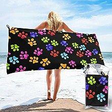 Black-Sky Schnell trocknendes Handtuch für das