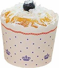 Black Temptation Papier Cupcake Cases Liner Muffin