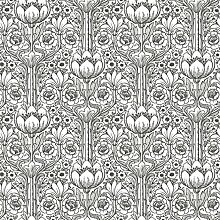 Black & White 6086 Vlies-Tapete nostalgisches