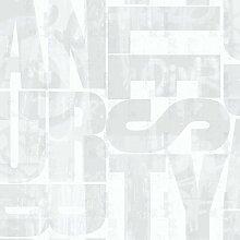 Black & White 6094 Vlies-Tapete Graffiti-Motiv