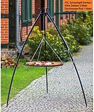 BlackOrange XXL Schwenkgrill 200 cm mit XXL