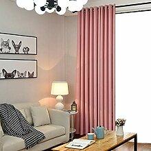 Blackout-Vorhang-Verkleidung für Wohnzimmer,