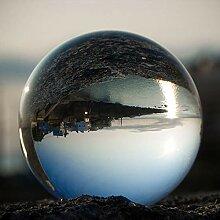 blackpoolal Glaskugel klar Fotografie Kugel aus