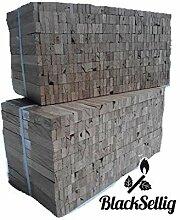 BlackSellig 12 Kg Anfeuerholz perfekt trocken und