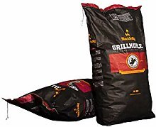 BlackSellig 20 Kg Steakhousekohle reines Quebracho