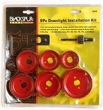 Blackspur Downlighter Deckenlight Einbau Kit 9