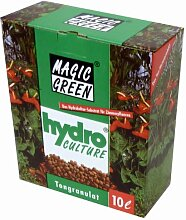Blähton 10l Karton, Körnung 8-16 mm - Magic Green