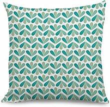 Blätter Muster Werfen Kissenbezüge Dekorative Baumwolle Leinen Kissen Fall für Zuhause D ¨ ¦ cor Wohnzimmer Sofa