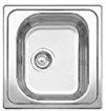 Blanco–Spülbecken mit einer Schale 1619425Finish Edelstahl-48x 50cm