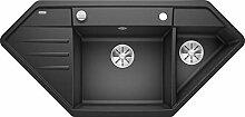 Blanco 524990 Lexa 9 E Küchenspüle, anthrazit,