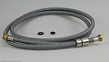 Blanco Brauseschlauch Nylon mit Dichtung GE (175 cm Länge)