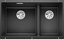 BLANCO SUBLINE 430/270-U – Unterbau Doppelspüle